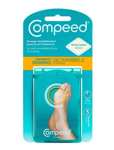 Compeed® Hallux Valgus Fußpflaster, 5 Hydrokolloide – Maße: 6,8 x 4,7 cm