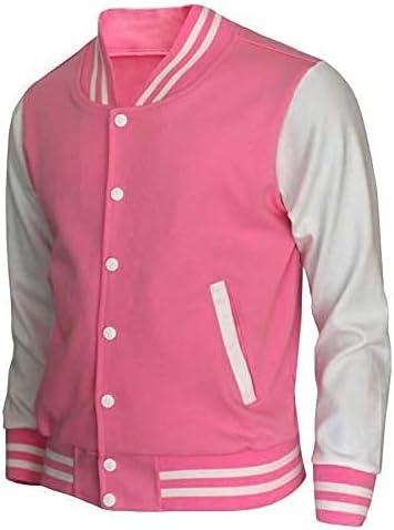Varsity Popularity Jacket for Men Slim Full Letterman F Baseball fit Max 61% OFF