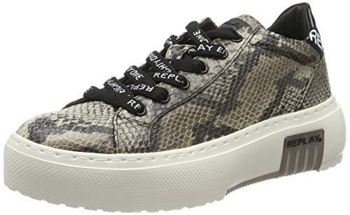 Replay Damen FINAL Sneaker, Braun (Brown 12), 38 EU