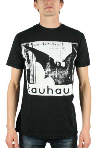 Camiseta masculina HIFI Bauhaus Undead Discharge Slim Fit, Preto, X-Large