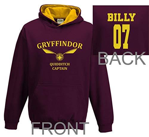 Personalised-adult-harry-potter-hoodie-Gryffindor