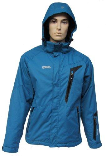 ZiKi NordBlanc Herren Ski-Snowboard Jacke See Blue S-3XL