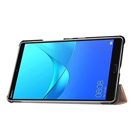 Hülle für Huawei MediaPad M5 8.4 Zoll Schutzhülle Tablet Smart Cover mit Auto Sleep/Wake, Standfunktion und Touchpen Gold - 6