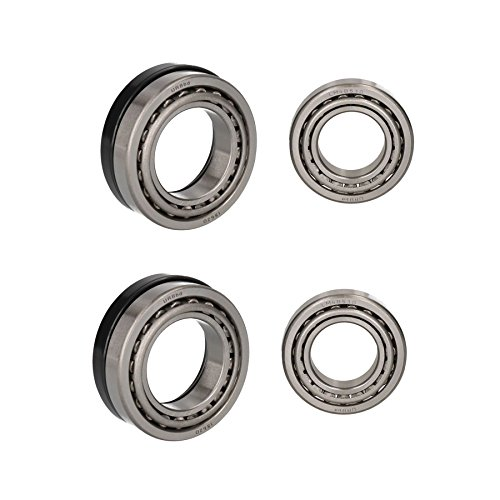 AB Tools Remorque 2 Kits de roulement à Rouleaux Coniques à fûts 250 x 40