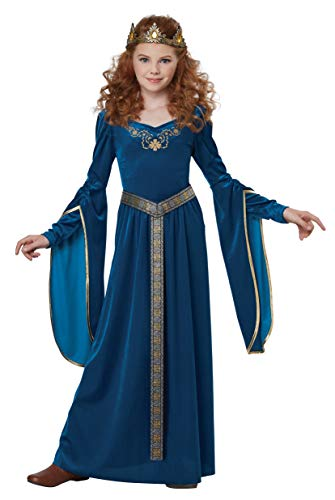 California Costumes Girls Medieval Princess Child Costume