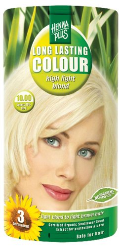 Hennaplus 49131 Long Lasting Colour 10 High Light Blond