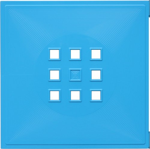 DEKAFORM Tür für Quelle Raumteiler, Würfelregal Flexi Einsatz Ikea Regal Expedit+Kallax mit Nörnäs * Türkis