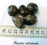 Pietre semipreziose di chiastolite, 30-35 mm