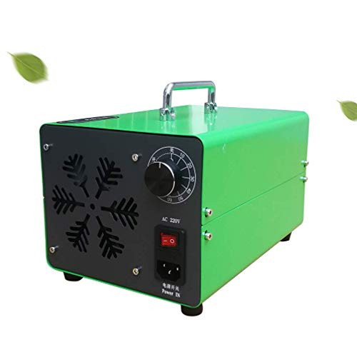 Ozone Generator Purifier 5,000mg/ h, Industrial Ozone Air Purifier O3 Air Purifier Sterilization Ozone Machine with Timer, Ozone Device Ozonizer for Rooms, Cars, Pets, Smoke