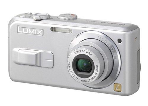 Panasonic Lumix DMC-LS3EG-S Digitalkamera (5 Megapixel) silber