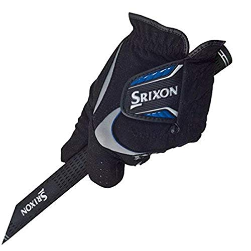 Srixon Rain Glove (Pair), Black, Medium/Large