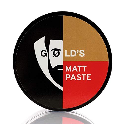 Gøld´s Matt-Paste Bestes Haarwachs Mit Extrem Starken Halt & Matt-Finish, Orientalisch, Haarwax Für Jeden Haartypen Geeignet, 100 ml