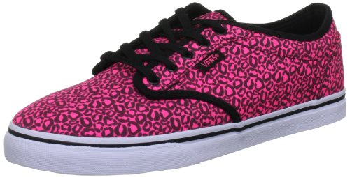 Vans Vans Atwood Low, Damen Skateboardschuhe, Pink (Neon Pink/Black), 9.5