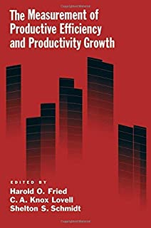 The Measurement of Productive Efficiency and Productivit Growth