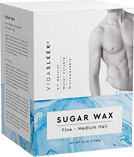 Sugar Wax Kit - Wax Hair Removal For Men and Women - Body...