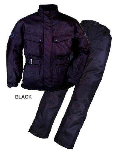 ラフ&ロード エキスパート ウインター スーツ 防寒 防風 防雨 上下セット ブラック  Mサイズ RR6515 BK-M