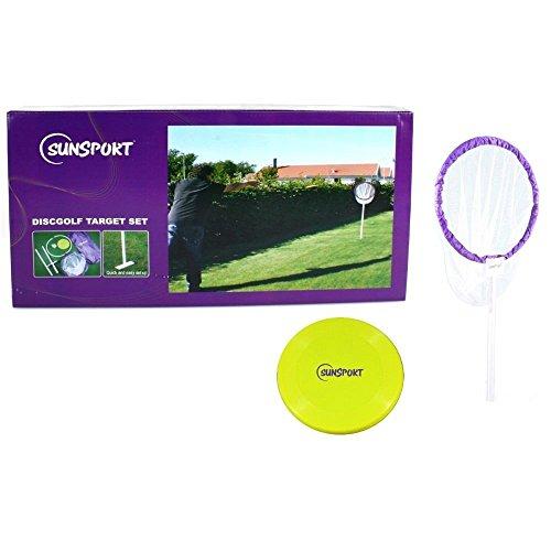 Sunsport 413-100 - Frisbeescheibe Discgolf Target Komplettset