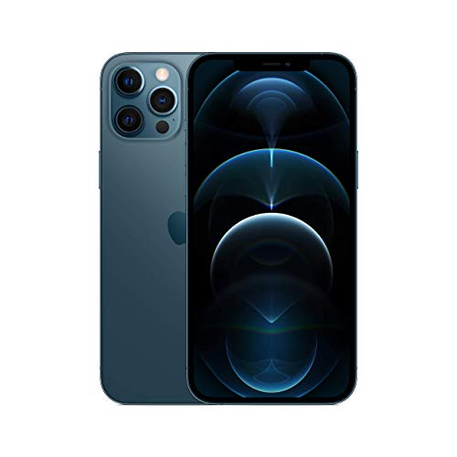 Apple iPhone 12 Pro Max, 512GB, Pacific Blue - Fully Unlocked (Renewed)