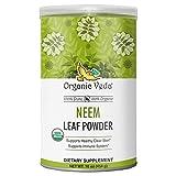 Organic Veda Neem Powder (Azadirachta Indica) - 100% Organic USDA Certified Immune Support Organic Neem Powder for Skin, Hair & Immune Support – Ideal for All Hair and Skin Types (16 oz)