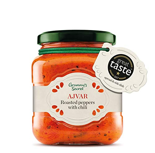 Ajvar Hot Red Pepper Relish by Granny's Secret, 200 g