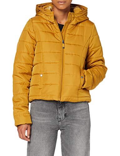 Vero Moda VMSIMONE AW20 Hoody Short Jacket GA Boos Chaqueta, marrón (Buckthorn Brown), S para Mujer