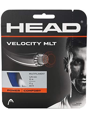 HEAD Velocity MLT - Cuerda de tenis (17 unidades), color azul