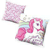Desconocido Kids Unicornios Referencia KD Cojines Textiles del hogar Unisex Adulto, Multicolor (Multicolor), 45 x 45 cm