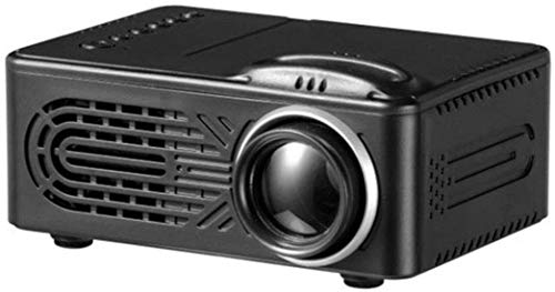 Mini Projector Portable Full HD 1080P video projector, 20,000 hours Multimedia home cinema movie projector, Compatible With HDMI, VGA, USB, AV, laptop, iPhone, Android Smartphone, White,B...