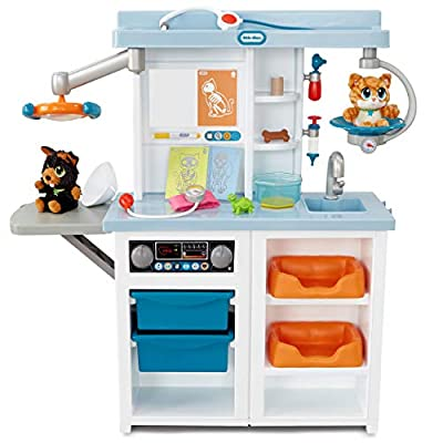 Little Tikes Vet Toys for Kids - My First Pet Doctor Checkup Pretend Play Set Veterinarian Playset - Over 15 Accessories, Multicolor Interactive Medical Vet Clinic from Little Tikes
