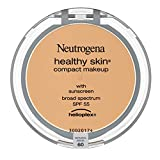 Neutrogena Healthy Skin Compact Lightweight Cream Foundation Makeup with Vitamin E Antioxidants, Non-Greasy Foundation with Broad Spectrum SPF 55, Natural Beige 60, .35 oz