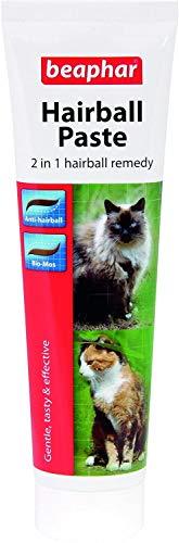 Beaphar Hairball Paste für Katzen 2 in 1, 100 g, 2er Pack (2 x 100 g)