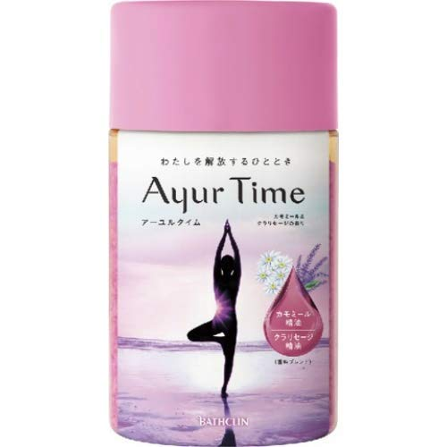 Ayurtime Chamomile & Clary Sage Fragrance 720g x 6 pieces