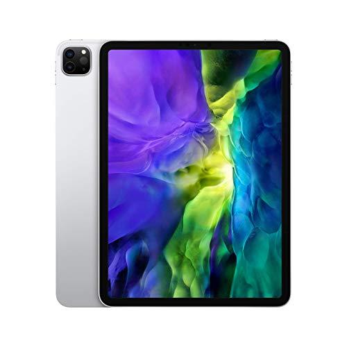 Apple iPad Pro (11-inch, Wi-Fi, 128GB) - Silver (2nd Generation) (2020) (Renewed)