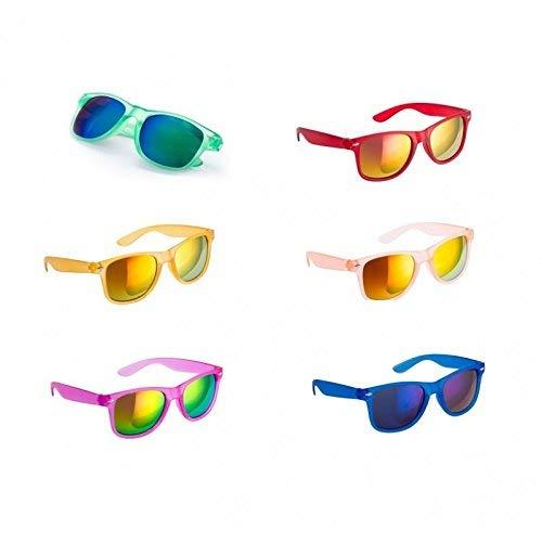 DISOK Lote de 30 Gafas de Sol Protección UV400 - Gafas de Sol Baratas Online, Fiestas, Promociones, Despedidas Soltero, Promociones Unisex, Hombres, Mujeres