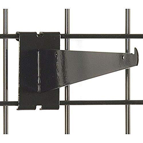 KC Store Fixtures A04605 Gridwall Shelf Bracket, 10
