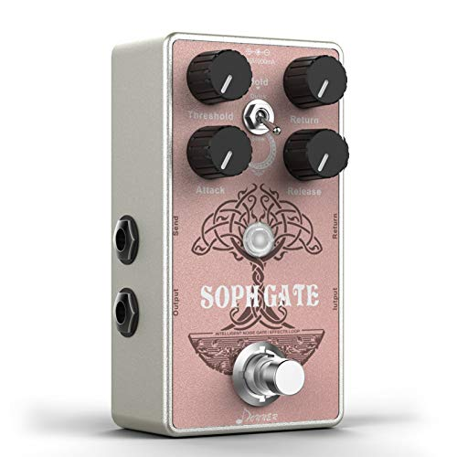 Donner Noise Gate Guitar Pedal, Soph Gate Intelligent Noise Gate Effects...