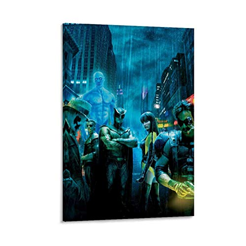 DRAGON VINES Watchmen - Cuadro decorativo para pared (50 x 75 cm)