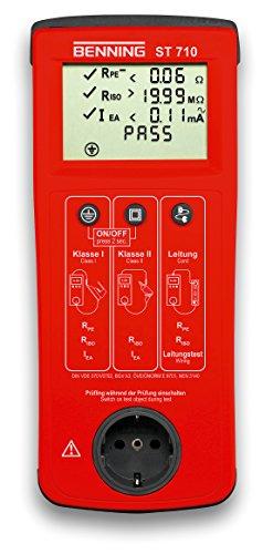 Benning 050308 ST 710 Kontrollinstrument, rot