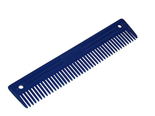 BITZ MANE COMB PLASTIC LARGE - BLUE - TRL8115