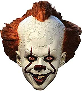 Trick or Treat Studios It Pennywise Deluxe Clown Mask, Officially Licensed