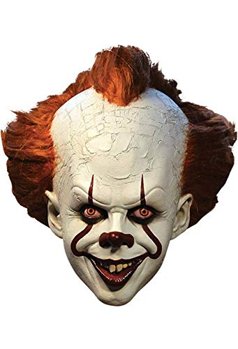 Pennywise Trick of Behandel Studios Het Deluxe Clown Masker, Officieel Gelicenseerd