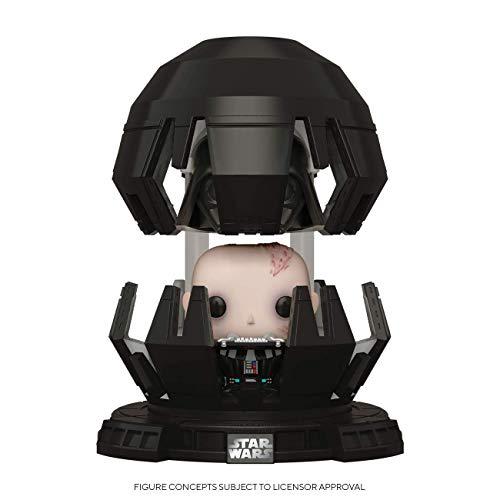 Funko - Pop! Deluxe: Star Wars - Darth Vader in Meditation Chamber Figura Coleccionable, Multicolor (46763)