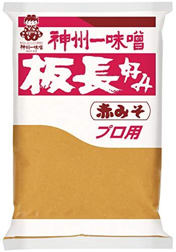 神州一味噌 板長好み赤みそ 1000g ×10袋