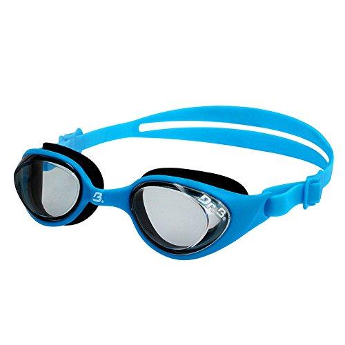 Dr.B Barracuda Optische Schwimmbrille mit Sehstärke Kinder 7-15#73195 Blau (-3.5)