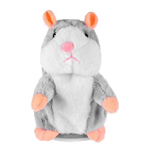 Toyvian El Juguete de Peluche Divertido de Hamster parlante