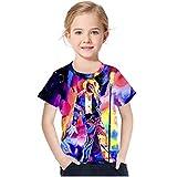 Szytypyl Children's Boys Girls Graphic 3D T-Shirt Michael Jackson Print MJ Tee Shirts