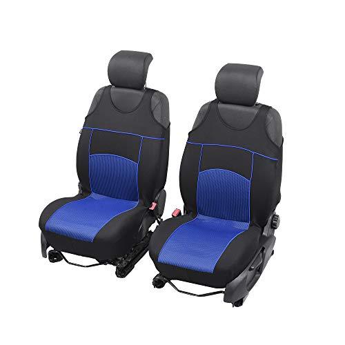 Neuheit Tuning EXTRA Sitzauflage Sitzbezüge Schonbezüge Geeignet für Citroen C4 Grand Picasso BLAU