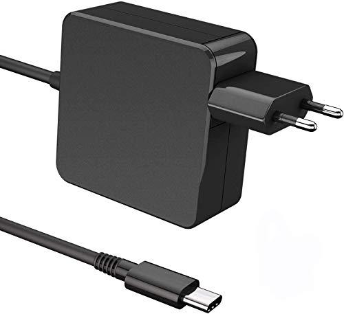 Atopoo Adaptateur Secteur USB C Type 61W / 65W, Chargeur USB-C pour MacBook/Pro, Lenovo, ASUS, Acer, Dell, Huawei, HP et Autres Ordinateurs Portables ou téléphones avec USB référencé C-CE