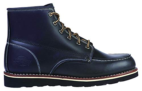 Dickies Shoes New Orleans Moc Toe Boot Black-46