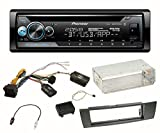 Pioneer DEH-S510BT Autoradio CD Bluetooth FLAC MP3 USB 1-DIN Equalizer Einbauset für BMW E87 E81 E82 X1 E84